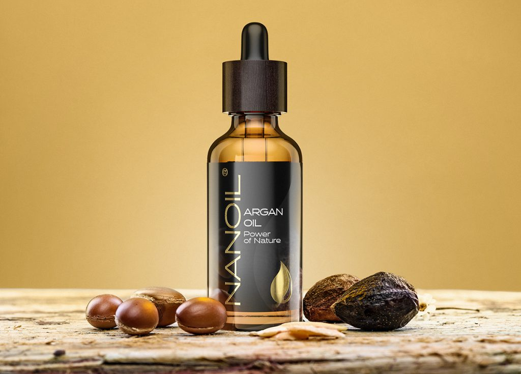 pure argan hair oil